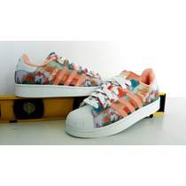 Concha Superstar Farm Corso Flores Flower Shell Adidas