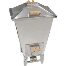 Churrasqueira A Carvão (gas Opcional) Bafo Inox Dalbem 15kg