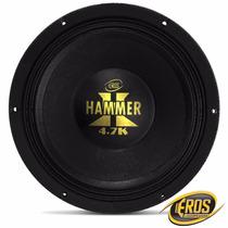 Alto Falantes Woofer Eros E12 Hammer 4.7k 2 Ohms 2.350w Rms