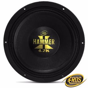 Alto Falantes Woofer Eros E12 Hammer 4.7k 4 Ohms 2.350w Rms