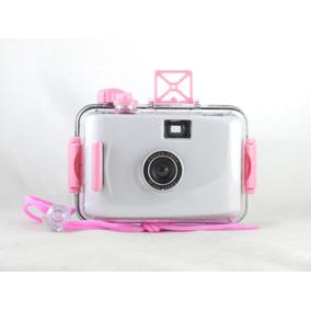 Camera Aquática Analógica De Filme 35mm Lomo Aquapix Branca