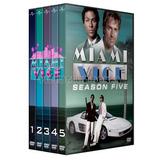 Division Miami Vice Serie Completa 5 Temporadas Dvd Latino