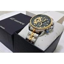 Relógio Casio Edifice Cronógrafo Pronta Entre. Ef-558sg 1av