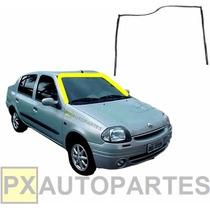 Borracha Para-brisa Clio 2000/ Trave