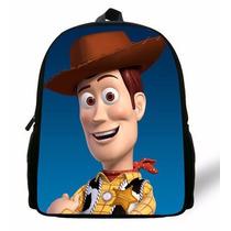 Mochila Preescolar Toy Story Woddy Disney