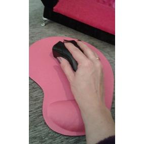 Mouse Pad Rosa Descanso Para Pulso Em Gel Meninas Rosa Hello