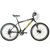 Bicicleta Mercury , Aro 26, 21 Marchas, Preta - Houston