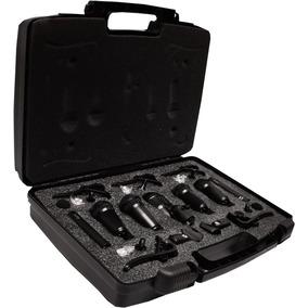 Paquete 7 Micrófonos Para Batería Con Accesorios Profe Xaris