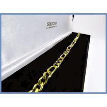 Pulsera Oro Amarillo Solido 14k Mod. Cartier 6mm 11grs Acc
