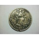 Moneda 25 Centavos Balanza 1885 San Luis Potosi Envió Gratis