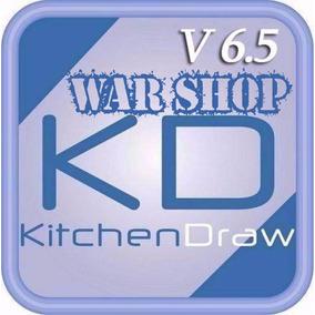 Kitchendraw 6.5 + Cargador De Horas + Optimizador De Corte