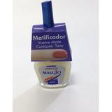 Esmalte Acabado Mate Para Uñas Matificador Masglo + 1 Regalo