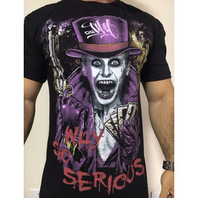 Kit 6 Camiseta Camisa Gangsta Catrina Motoqueiro Fantasma