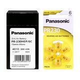 Caixa C/ 60 Baterias Panasonic Tamanho 10 Aparelho Auditivo