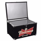 Caixa Termica Budweiser Cooler Blindada 110l Cerveja Bar