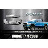 Cobertor Cromado De Manilla Compuerta Trasera Dodge Ram 2008