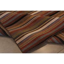 Tapete Kilim Indiano Em Lã 100% À Mão Dunas Color 2,00x3,00m