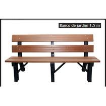 Banco Jardim - Madeira Plastica - 1,50