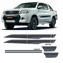 Jg De Faixas Decorativas Hilux Limited Edition 2015 3m 1 Ano