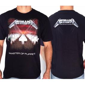 Camiseta Metallica Master Of Puppets E709 Consulado Do Rock