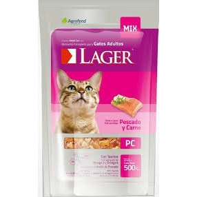 Lager Gato 10kg + 2pate + 6 Pagos
