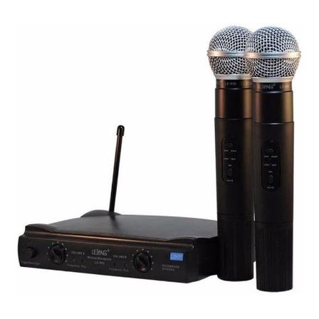 Microfones sem fios Lelong LE-906
