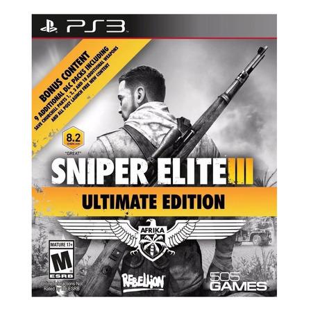 Sniper Elite III Ultimate Edition 505 Games PS3 Digital