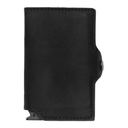 Billetera Walla Vintage Doble black cuero