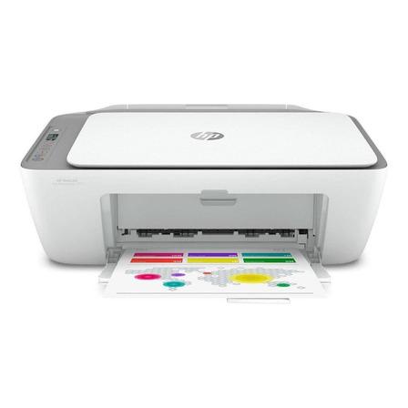 Impressora a cor multifuncional HP Deskjet Ink Advantage 2775 com wifi branca 100V/240V
