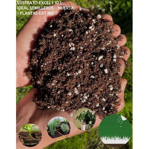 Tierra Sustrato Premium - Perlita - F Coco - Turba - Humus