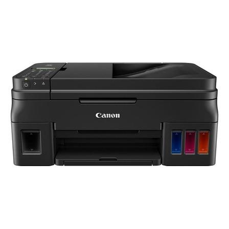 Impressora a cor multifuncional Canon Pixma G4111 com wifi preta 110V/220V