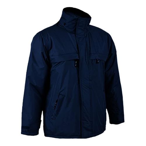 Campera Abrigo Y Trabajo Hombres En Azul Marino - Textilshop