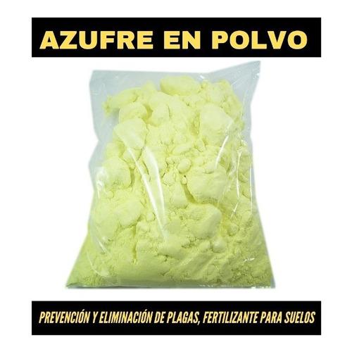 Azufre Agricola X 10 Kg