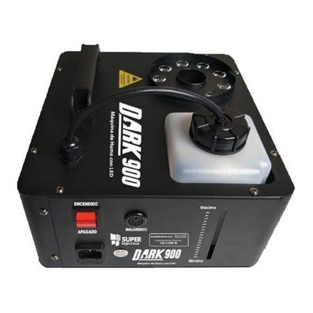 Máquina de humo Super Bright & Loud Dark 900 color negro 120V/240V