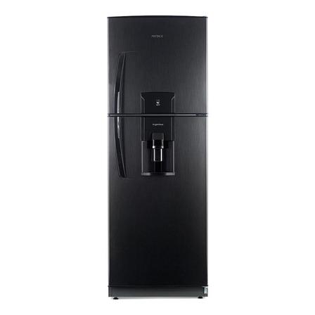 Heladera Patrick HPK151M11  black steel con freezer 388L 220V