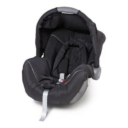 Bebê conforto Galzerano Piccolina preto e cinza