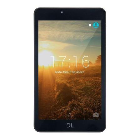 "Tablet DL Invent Now TX382BRA 7"" 8GB branco com memória RAM 768MB"