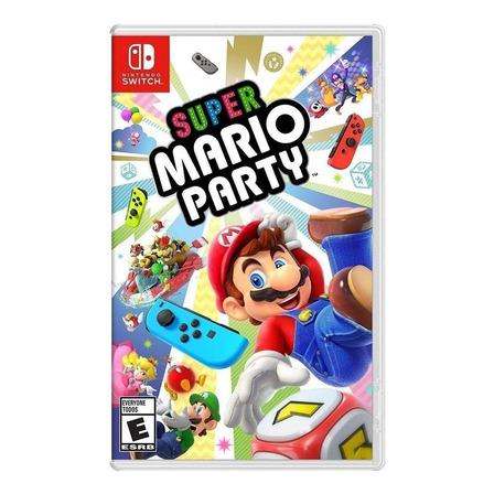 Super Mario Party Standard Edition Nintendo Switch  Físico
