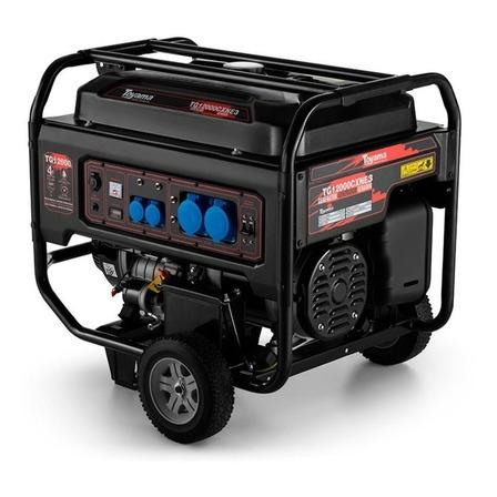 Gerador portátil Toyama TG12000CXNE3D 11 kW trifásico com tecnologia AVR 220V
