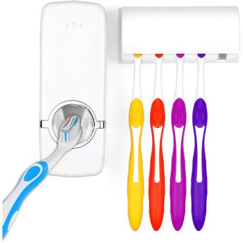 Dispensador Automatico Pasta Dental Y  Porta Cepillo Atrix ®