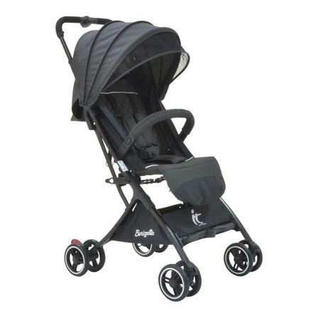 Carrinho de bebê Burigotto It de passeio black com chassi preto