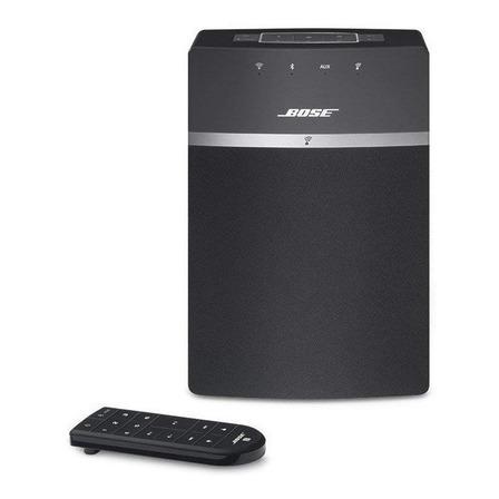 Parlante Bose SoundTouch 10 portátil con bluetooth y wifi  black 110V/220V