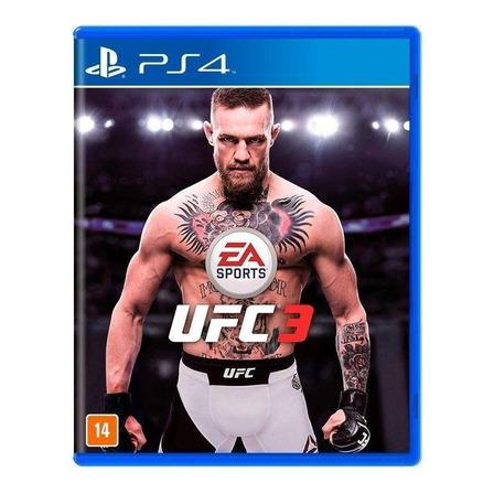 UFC 3 Standard Edition Electronic Arts PS4 Físico