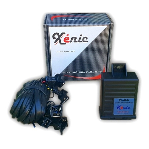 *emulador Inyectores Gnc 3 En 1 Central De Mando C-4a,xenic®