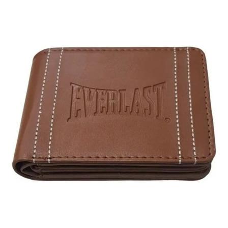 Billetera Everlast 26205 marrón cuero sintético