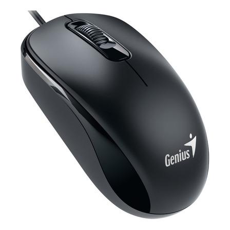 Mouse Genius  DX-110 USB negro suave