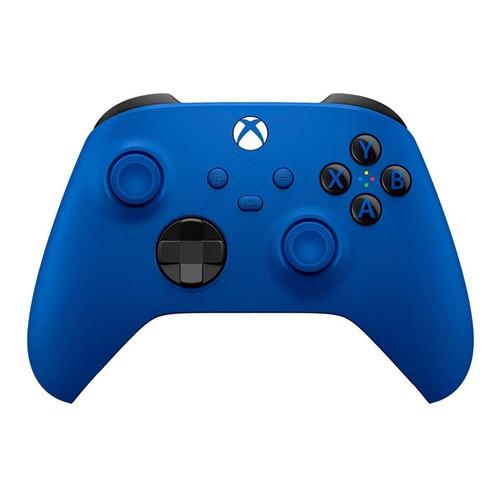 Joystick inalámbrico Microsoft Xbox Wireless Controller Series X|S shock blue