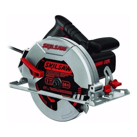Serra circular elétrica Skil 5402 184mm 1400W 50Hz/60Hz preta/vermelha 220V