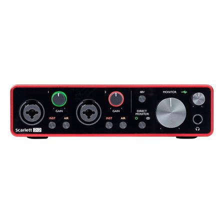 Interface de audio Focusrite Scarlett 2i2 3.ºra  gen