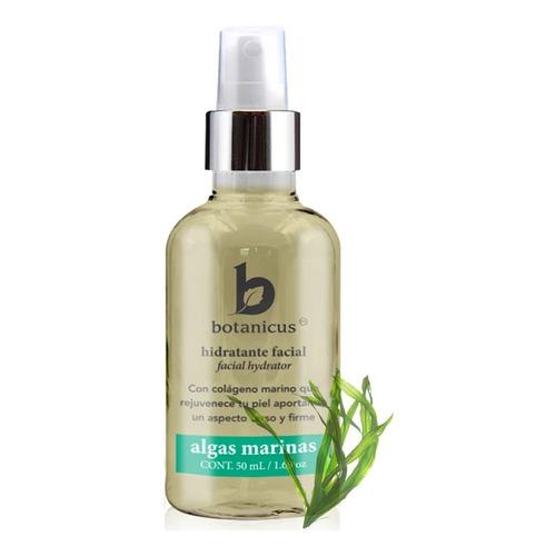 Hidratante Facial Orgánico De Algas Con Colágeno Botanicus